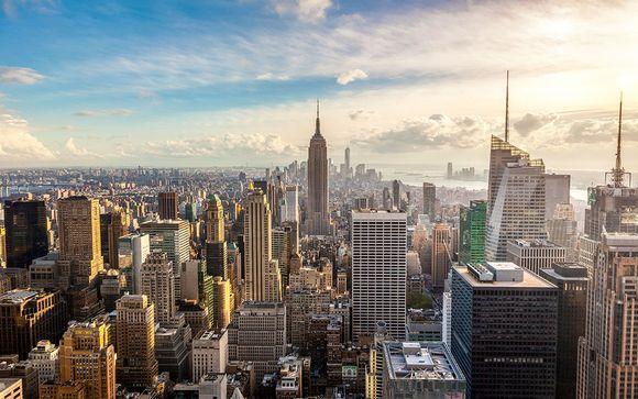 Combin� 4* The Roosevelt H�tel New York et Eden Roc Miami et Le Pavillon H...