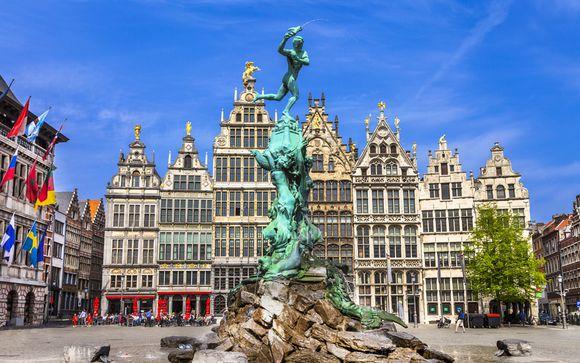 Poussez les portes de l'hôtel NH Collection Antwerp 4* à Anvers