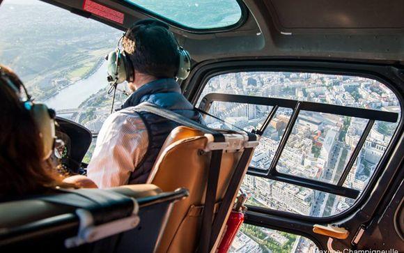 Option vol en hélicoptère Paris-Versailles