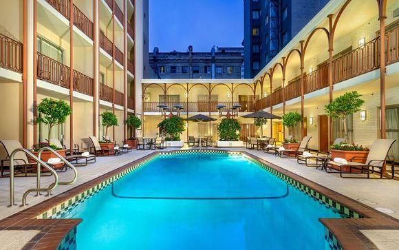 Poussez les portes de l'hôtel Handlery Union Square 3* à San Francisco