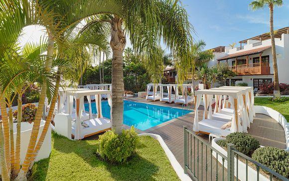 Poussez les portes de l'hôtel Jardin Tecina 4* (ou similaire) à la Gomera