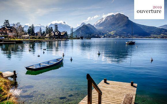 Calme et sérénité au bord du lac