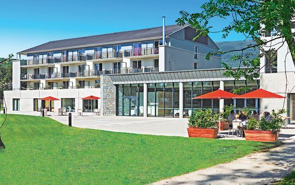 Poussez les portes de l'hôtel La Villa Du Lac