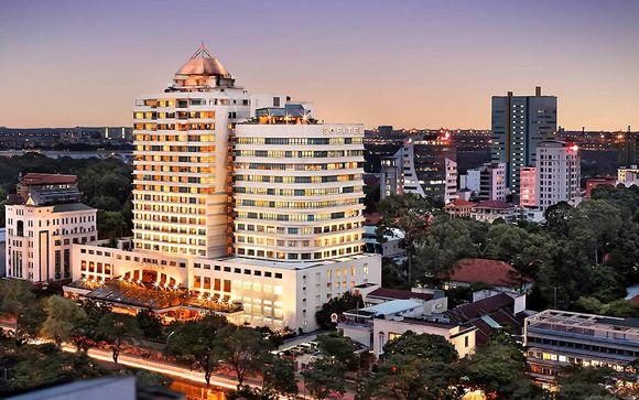 Votre pré-extension à l'hôtel Sofitel à Saïgon