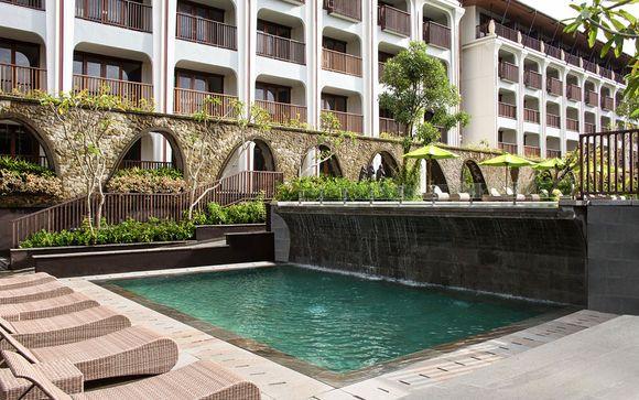 Poussez les portes de l'hôtel Element by Westin Ubud 4*