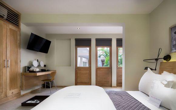 Poussez les portes de l'hôtel Billini à Saint Domingue