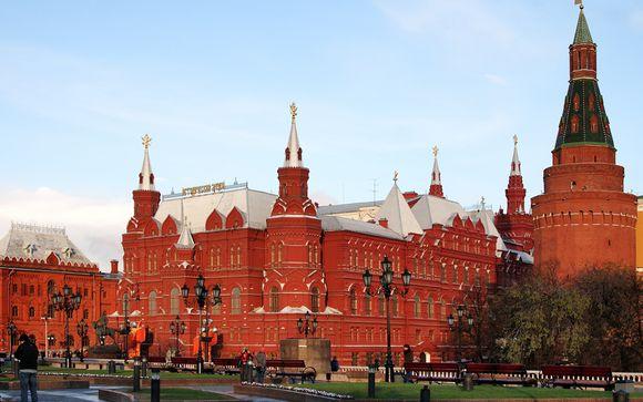 Zoom Sur votre Croisière de Moscou à Saint-Pétersbourg