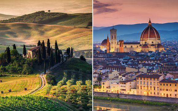 Combiné Florence & Toscane 4*