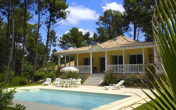 France Lacanau - ESTIVEL - Villas EDEN PARC GOLF à partir de 259,00 € (259.00 EUR€)