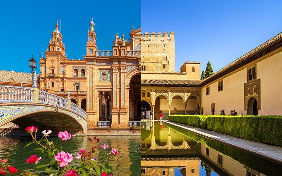 Combiné 4* Hotel San Gil Sevilla et Urban Dream Granada