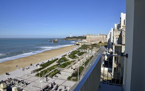 Hôtel Windsor Biarritz Grande Plage 4*