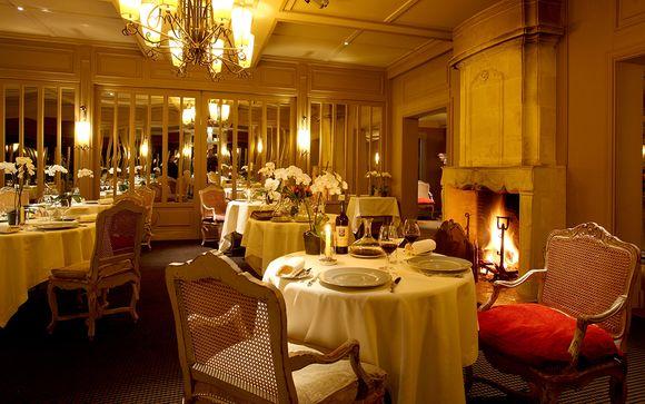 Le restaurant étoilé La Grand'Vigne