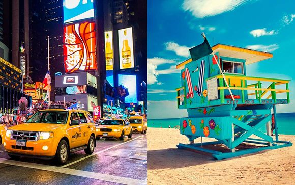 Combiné The Parker New York 5* et The National Hotel 4*
