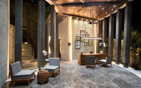 Poussez les portes de l'hôtel Tamarind Resort Lembongan