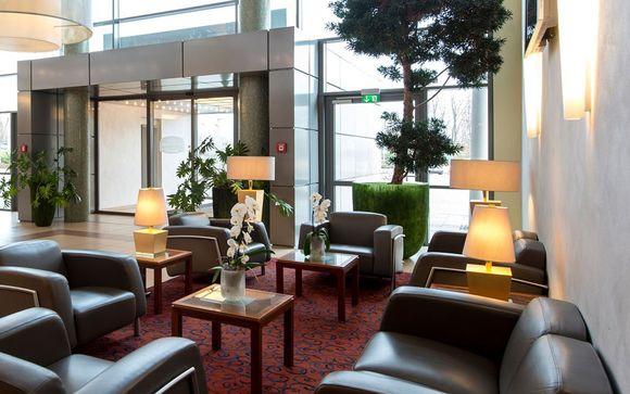 Poussez les portes de l'Hôtel Courtyard by Marriott 4*