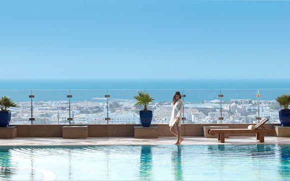 Hôtel Fairmont Dubai 5* et excursions incluses