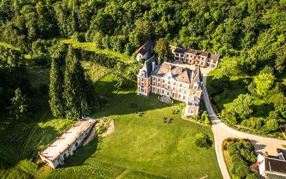 Poussez les portes de l'hôtel du Château de la Bûcherie