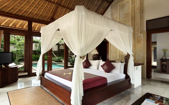 Votre extension à l'hôtel Ubud Villa Resort 5* à Ubud
