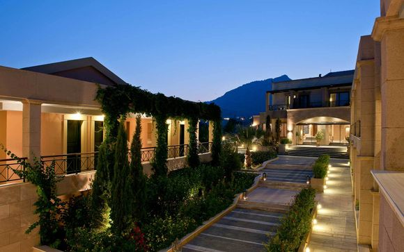 Poussez les portes de l'hôtel Mistis Lindos Memories 5*