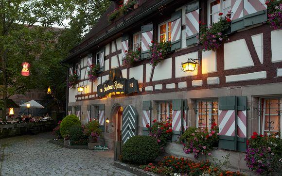 Poussez les portes du Romantik Hotel Gasthaus Rottner 4*