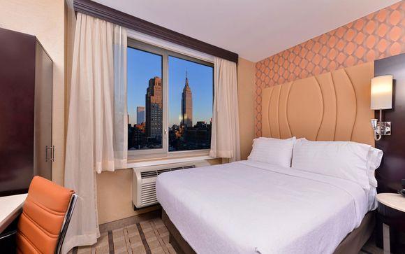 Poussez les portes de l'hôtel Holiday Inn New York Times Square