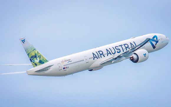 Offrez-vous un vol avec Air Austral