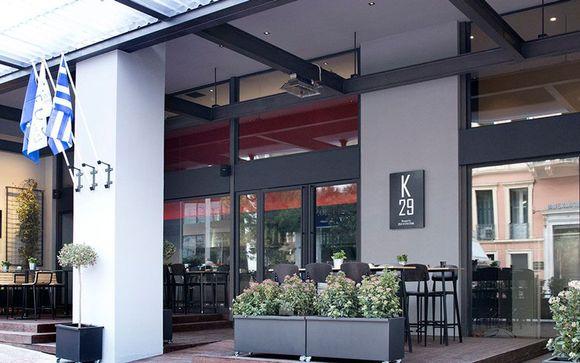 Poussez les portes du boutique-hôtel K29 à Athènes