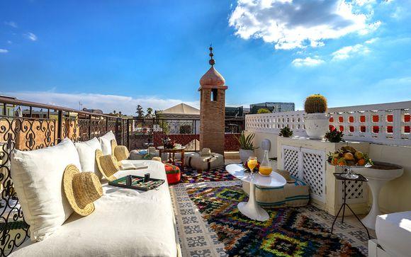 Riad intime près de la place Djema el Fna