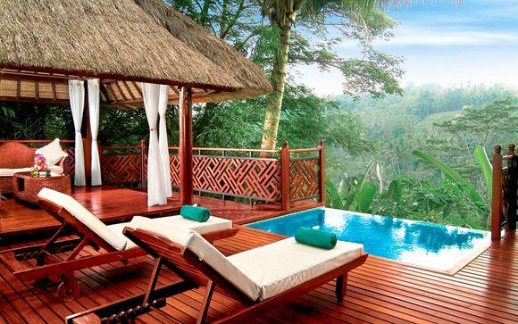 Poussez les portes de l'hôtel Kupu Kupu Barong Villas and Tree Spa by L'Occitane 5*