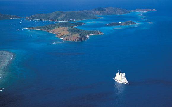 Croisière Îles sous le Vent en navire légendaire