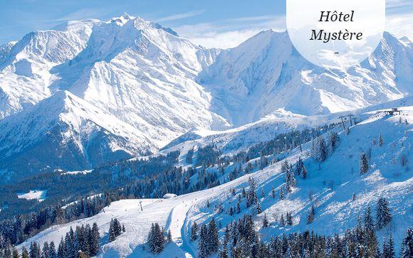 Refuge savoyard face au Mont Blanc