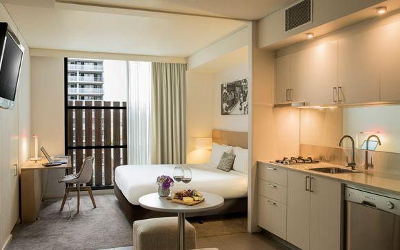 Poussez les portes de votre hôtel 4* à Melbourne