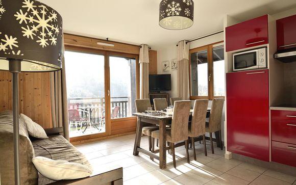 Les Fermes de Saint-Gervais - Appartements 2-8 personnes