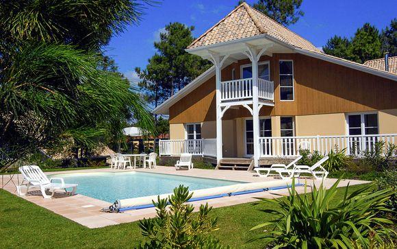 Villa et piscine privée près de l'Atlantique