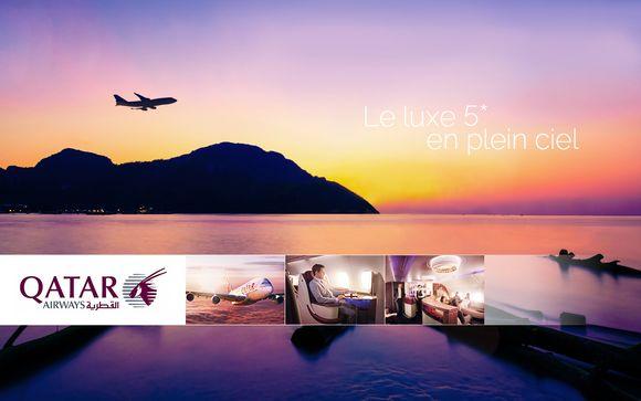 Luxe 5* en plein ciel avec Qatar Airways