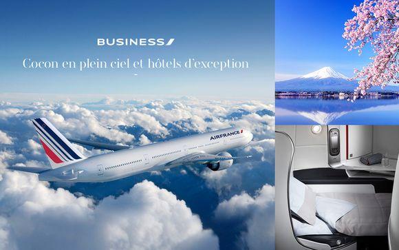 Voyagez en Cabine Business avec Air France