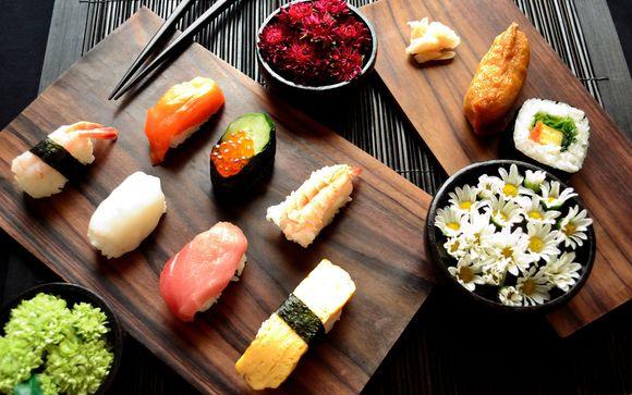 Cours de fabrication de sushis en anglais à Tokyo