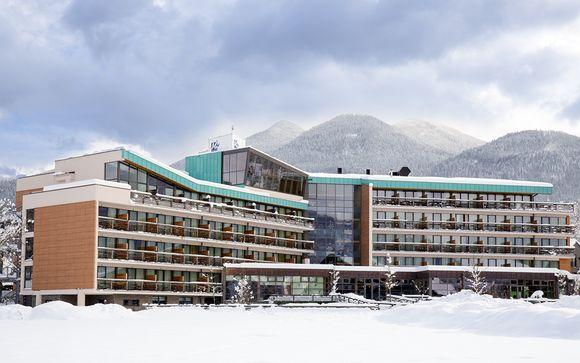 Poussez les portes du Bohinj Eco Hotel 4*