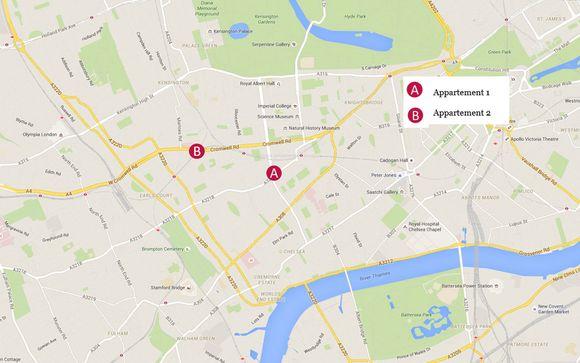 Découvrez la situation géographique des appartements