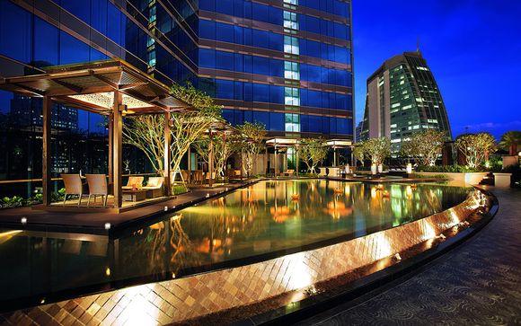 Poussez les portes de l'hôtel Grande Center Point Terminal 21 5* à Bangkok
