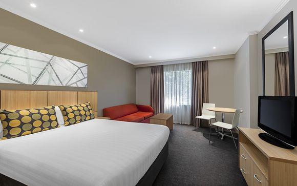 Votre extension à l'hôtel Travelodge Southbank 3* à Melbourne (ou similaire)