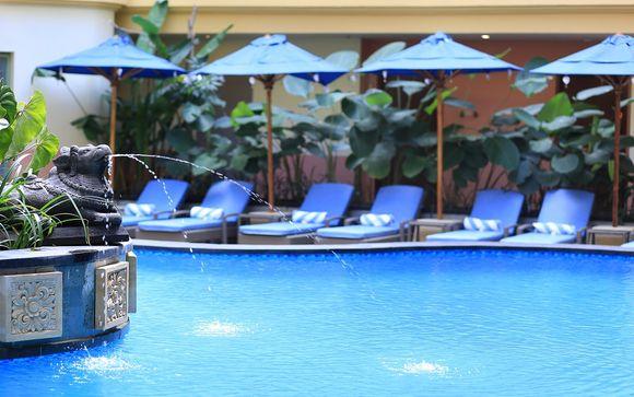 Poussez les portes de l'hôtel SenS Hôtel & Spa 4* à Ubud