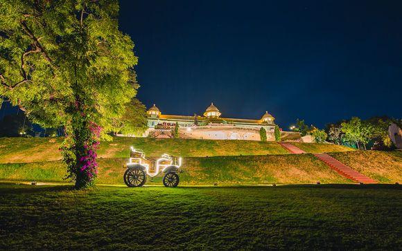 Poussez les portes du The Lalit Laxmi Vilas Palace 4*
