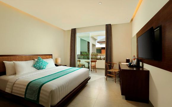Poussez les portes de l'hôtel Anja Jimbaran 4*