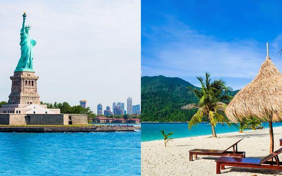 Combiné Four Points New-York et Now Jade Riviera Cancun 5*