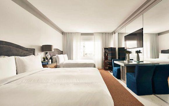 Poussez les portes de l'hôtel Public New York 4* et Nautilus, a SIXTY Hotel 5*