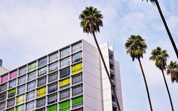 Poussez les portes de l'hôtel The LINE 4* à Los Angeles