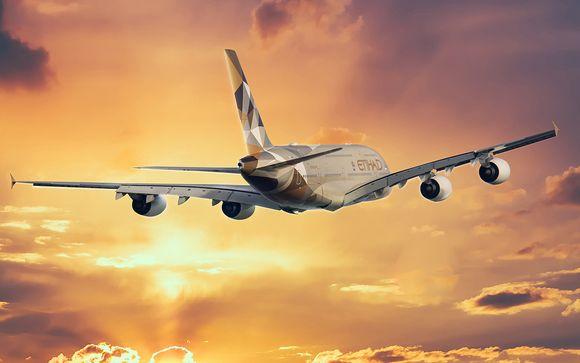 Offrez-vous le luxe d'un voyage avec Etihad Airways