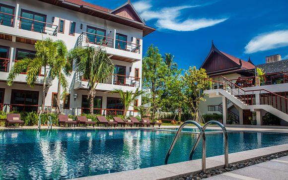 Poussez les portes de l'hôtel T-Villa Phuket 4*