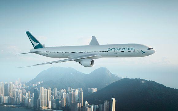Offrez-vous le luxe de la classe Affaires avec Cathay Pacific